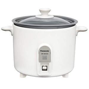 パナソニック 炊飯器 1.5合 小型 ミニクッカー ホワイト SR-MC03-W