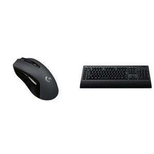 ロジクール 最新 LIGHTSPEEDワイヤレスゲーミングマウス&キーボードセットG603 + G6...