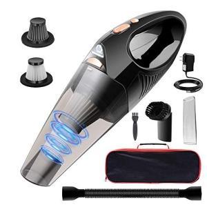 DOFLY 車用掃除機吸力加?版 ハンディクリーナー コードレス 軽量 乾湿両用 小型 家庭 充電式...