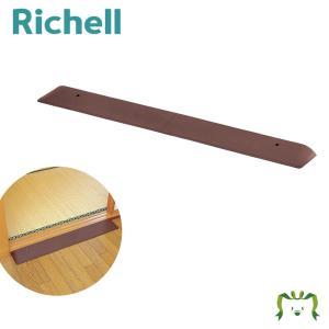 介護 施設 車いす 段差解消 プレート ゴム リッチェル Richell 室内用ラバースロープ 2H