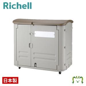 日本製 物置 屋外収納庫 リッチェル Richell ワイドストレージ 600(キャスター付き) kamoshikanet
