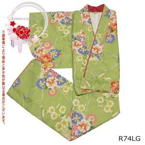 二部式着物 AR05 洗える着物 セパレート着物 袷物 フリーサイズ 裏地あり ブランド RK|kamoya529