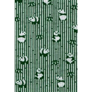 手拭い 小紋柄 手ぬぐい 小紋 柄07 パンダ ミドリ 和手ぬぐい 手拭 日本製 粗品 ギフト プレゼント クリックポスト対応|kamoya529