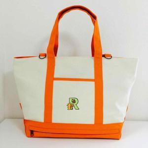 kana organic NEW マザーズバッグオレンジ 日本製 出産祝い 誕生日祝い かわいいロゴでイニシャルプリントできます 世界にひとつだけ kana-kidswear