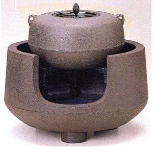 茶道具 尺1面取中磨 都色 電熱器対応型1-7