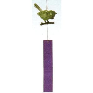 南部鉄 南部鉄器 手作り 鉄 風鈴 南部風鈴 小鳥 高さ110mm|kana7