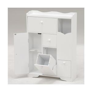 ■商品説明 ◇清潔なホワイト色のトイレラック。 ・省スペースでもペーパーロールやお掃除ブラシなどを清...