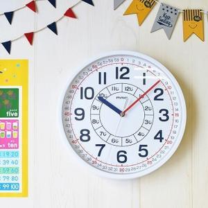 ■商品説明 お子様の学習用に最適な知育時計 通常の掛け時計としても使用出来るように、文字板の色数を抑...