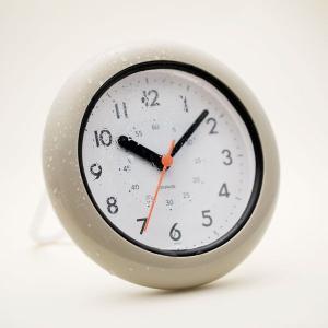 ■商品説明 濡れても安心!防滴バスクロック スムーズに動く秒針(連続秒針) 防水性能IP52の防塵防...