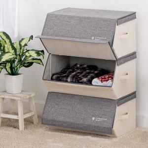 ■商品説明 重ねて使える積み重ねマルチ収納ボックス! 1つでも積み重ねてもお洒落に便利に使えます。 ...