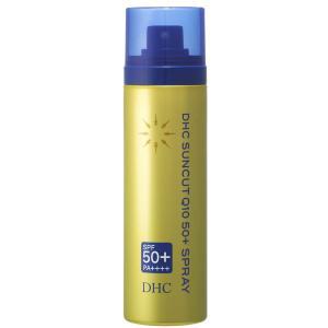 日焼け止めスプレー DHC サンカットQ10 50プラス SPF50+ PA++++ 60g|kanaemina