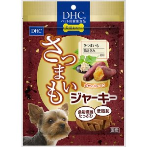 犬用おやつ DHC さつまいもジャーキー 100g サツマイモ 鶏ささみ使用 無添加 国産|kanaemina