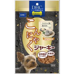 犬用おやつ DHC こんにゃくジャーキー 100g コンニャク 鶏ささみ使用 無添加 国産|kanaemina