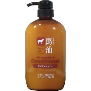 馬油 コンディショナー 椿油配合 600ml|kanaemina