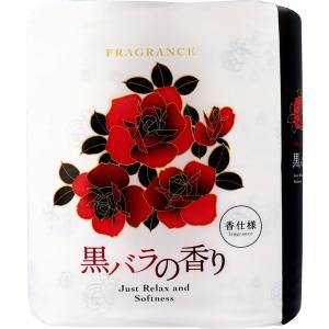 トイレットペーパー 四国特紙 リラックス 黒バラの香り ダブル 30m×4ロール|kanaemina