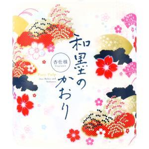 トイレットペーパー おしゃれ 四国特紙 和墨の香り ダブル 32m×4ロール|kanaemina