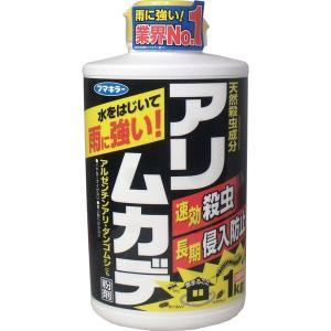 アリ・ムカデ退治 アリ駆除剤 殺虫剤 忌避剤 フマキラー アリムカデ粉剤 1kg|kanaemina