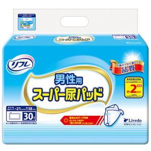 尿とりパッド 尿取りパット 男性用 巻き止めタイプ リフレ スーパー尿パッド 30枚入×2セット|kanaemina