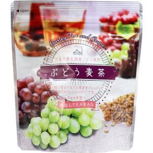 ぶどう麦茶 国産大麦 国産ぶどう 水出しティーバッグ 5g×8包入|kanaemina