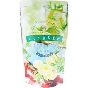 レモン香る煎茶 静岡県産茶葉&レモンマートル使用 水出しティーバッグ 3g×20包入|kanaemina
