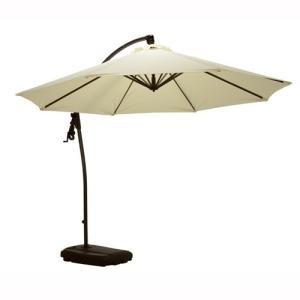 ガーデンパラソル 日よけ 日傘 アイボリー kanaemina