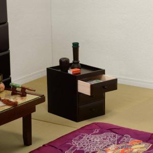 仏壇サイドチェスト お仏壇横 箪笥 仏壇台 置き台 桐タンス 幅20cm 高さ25cm 桐製 コンパクト|kanaemina
