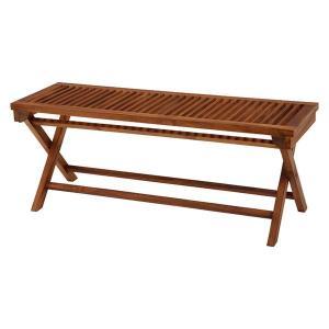 ガーデンベンチ フォールディングベンチ 折りたたみ 木製 チーク材 幅120cm|kanaemina