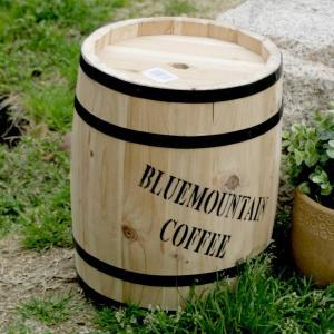 コーヒーバレル コーヒー樽 珈琲タル ディスプレイラック ガーデン樽 木製 小 kanaemina