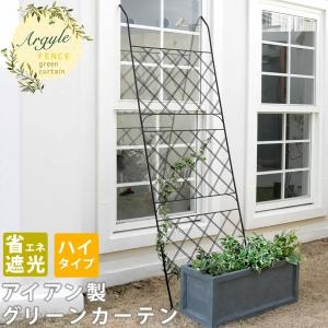 グリーンカーテン アイアン製 グリーンラティス アーガイル フェンス  緑のカーテン kanaemina
