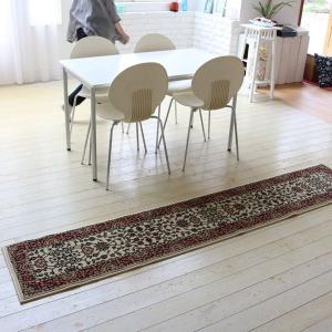 ラグ ウィルトン織りラグ 45×240cm カーペット ラグマット 長方形 ウィルトンラグ|kanaemina