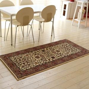 ラグ ウィルトン織りラグ 80×180cm カーペット ラグマット 長方形 ウィルトンラグ|kanaemina