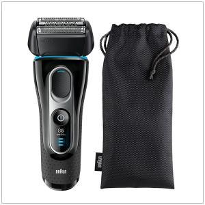 髭剃り 電気シェーバー 往復式 3枚刃 男性用 メンズ お風呂剃り対応 BRAUN ブラウン 海外対応|kanaemina