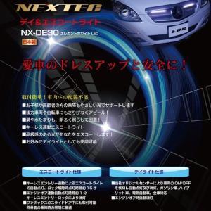 デイ&エスコートライト エレガントホワイト LED 日本製 12V車専用|kanaemina