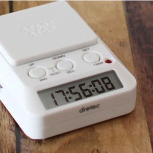 ■商品説明 卓上で使いやすい学習に便利なタイマー 押しやすい大きな「START/STOP」ボタン 音...