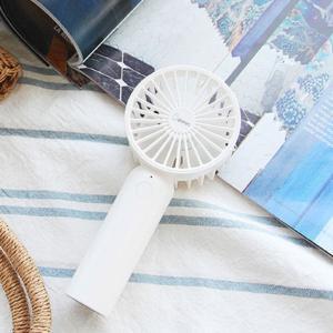 ハンディファン ハンディ扇風機 充電式 小型 軽量 ポータブル ハンディ&スタンド 2way 風量5段切替|kanaemina