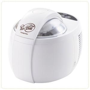 アイスクリームメーカー 家庭用 大容量 電気式 電動 冷却不要 手作り シャーベット 冷製料理|kanaemina
