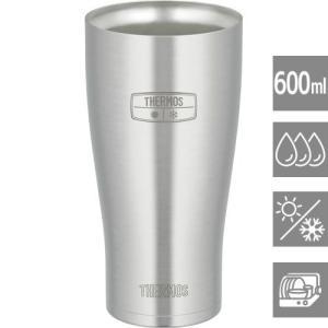タンブラーグラス グラスコップ ステンレス 保温 保冷 真空断熱 600ml サーモス|kanaemina