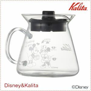 コーヒーサーバー ポット デカンタ 耐熱ガラス製 カリタ&ディズニー ミッキー ミニー 300ml 数量限定|kanaemina