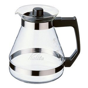 カリタ コーヒーメーカー用コーヒーサーバー 1200cc 耐熱ガラス製 1200サーバーN|kanaemina