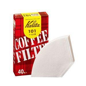 カリタ 珈琲屋さんのコーヒーフィルター ペーパー ホワイト(40枚×10個) kanaemina