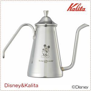 ドリップポット ハンドドリップ コーヒー ステンレス スリム カリタ&ディズニー ミッキーマウス 数量限定|kanaemina