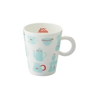 珈琲カップ コーヒーカップ マグカップ カリタ 北欧風 陶磁器 ブルー|kanaemina