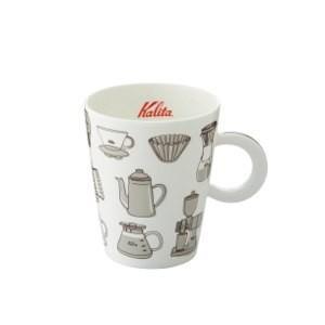 珈琲カップ コーヒーカップ マグカップ カリタ 北欧風 陶磁器 ブラウン|kanaemina