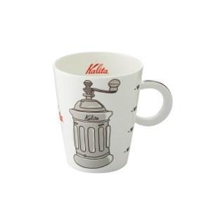 珈琲カップ コーヒーカップ マグカップ カリタ 北欧風 陶磁器 ミルブラウン|kanaemina