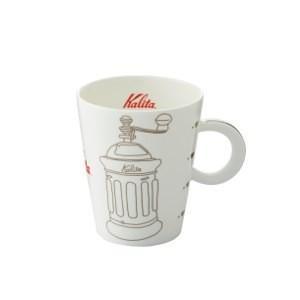 珈琲カップ コーヒーカップ マグカップ カリタ 北欧風 陶磁器 ミルグレー|kanaemina