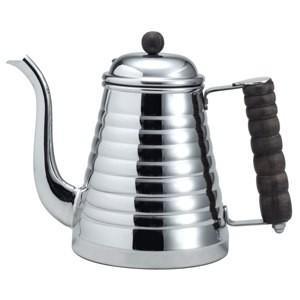 コーヒーポット カリタ ステンレス 細口 直火 IH100V対応 1.0L ウェーブ|kanaemina
