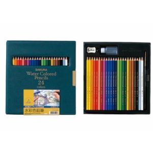 水彩色鉛筆 色えんぴつ 25色セット kanaemina