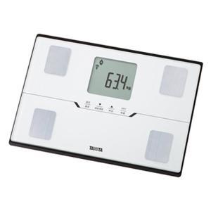 体組成計 体重計 タニタ スマホ連動 スマートフォン通信対応 コンパクト 薄型ワイド パールホワイト kanaemina