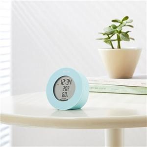 温湿度計  デジタル 温度計 湿度計 タニタ 置き マグネット式 インテリアサーモ ブルー|kanaemina