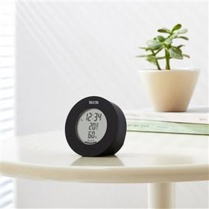 温湿度計  デジタル 温度計 湿度計 タニタ 置き マグネット式 インテリアサーモ ブラック|kanaemina